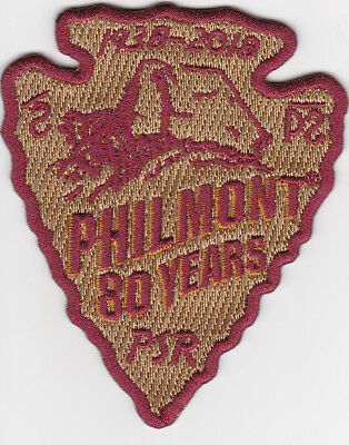 Philmont Scout Ranch * 2018 Adventure Patch * 1938-2018 * 80 Years