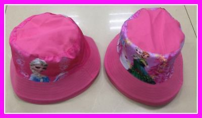 Children's Cotton Bucket Hat - Frozen
