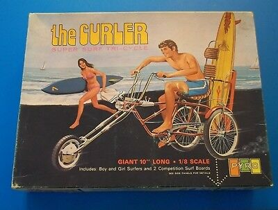 1/8 Scale: the Curler *-* Super Surf Tri-Cycle *-* Pyro M-177...copyright 1970