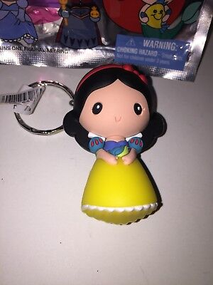 Disney Princess Snow White Monogram 3D Keyring NEW/OPENED