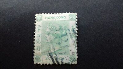 Stamps Hong Kong Queen Victoria  24 cent Used