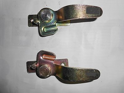 New Heavy Duty Windshield Frame Center Latch Pair For Willys 1946-49 Cj-2A Cj-3B