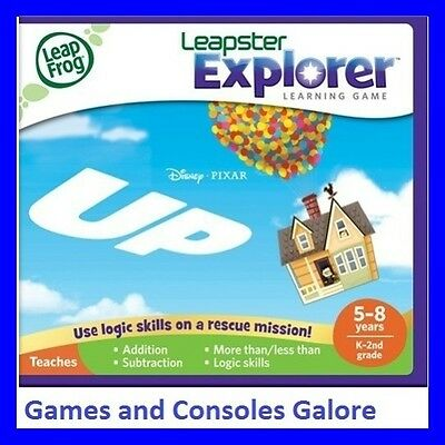 NEW! LeapPad Game UP HARD TO FIND! Leap Pad Leapfrog