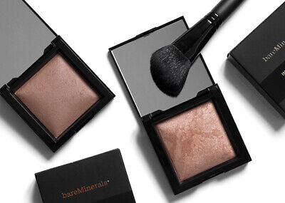 bareMinerals invisible glow powder highligter new in box full size 0.24oz