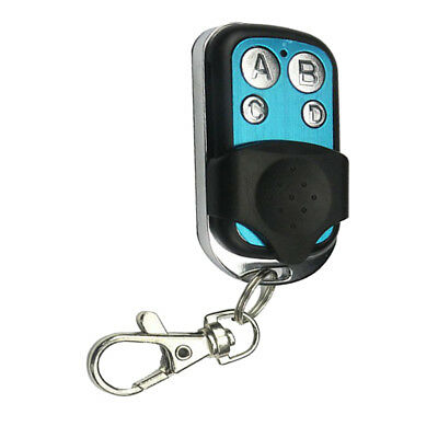 12V 433mhz RF Wireless 4 Channel Universal Gate Garage Door Remote Control