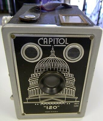 Vintage Capitol 120 Art Deco Box Camera