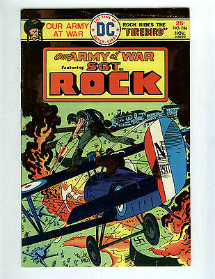 "Our Army at War # 286- Nov 1975 8,0 VF DC Comics- Sgt Rock& Easy CO  ""Firebird"""