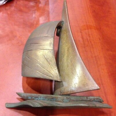 Colby Smith Designed Sailboat Door Knocker Br Signed New List Price 230 00