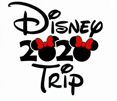 Disney ******Minnie Mickey Mouse****** Vacation 2019 T-Shirt Iron On Transfer