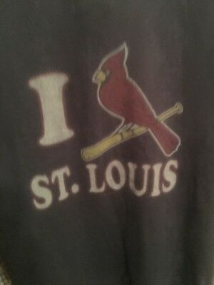 MENS VINTAGE  ST LOUIS CARDINALS Lot Of 2 SHIRTs Medium