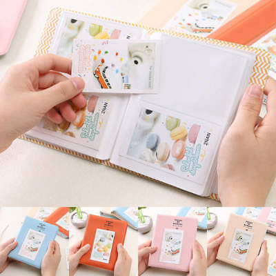 64 Pockets Photo Album Storage Book For Fujifilm Polaroid Instax Mini 8 7s 25 90