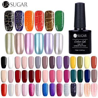 UR SUGAR Multi-type Nail Art UV Gel Polish Crackle Manicure Soak Off Lamp Gel
