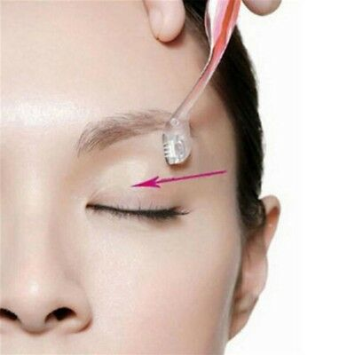 3*Pink Eyebrow Shaper Shaver Trimmer Razor Hair Remover  Facial Tool A33