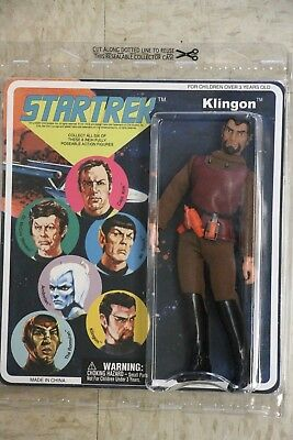 Klingon Star Trek Mego Repro Action Figure 2007 MOC