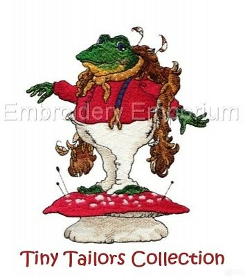 Tiny Tailors Collection - Machine Embroidery Designs On Cd