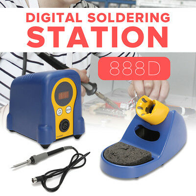 FX-888D Digital Thermostatic Soldering Station Solder Iron Welder With Stand