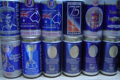 Empty Fosters Cans