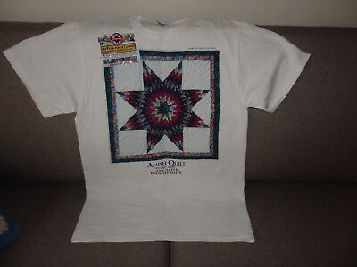Amish Quilt Tee Shirt. Lancaster , Pennsylvania. Adult Medium( size 12-14 ).