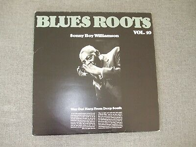 Sonny Boy Williamson: LP Blues Roots Vol. 10 - Way Out Harp from the Deep South