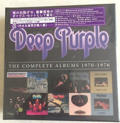 The Complete Albums 1970-1976 [Box] by Deep Purple (Rock) (CD, Oct-2013, 10 Disc