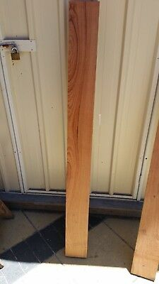 South African Mahogany Timber 125mm x 35mm x 1000mm x 1 item