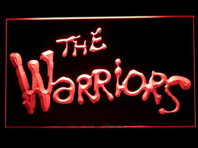 P263R The Warriors For Display Light Sign