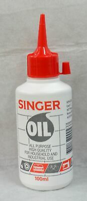Singer Sewing Machine Oil 100ml, For Domestic & Industrial Machines & More