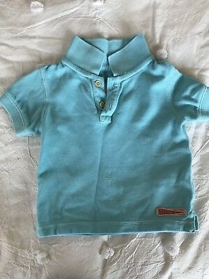 Country Road baby boys blue polo 6-12 months