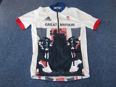 Team GB : Great Britain : Rio Olympics 2016 Adidas S/S cycling jersey [S] Unused