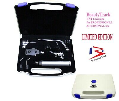 ENT Otoscope Ophthalmoscope Opthalmoscope Nasal Larynx Diagnostic Set CE NEW