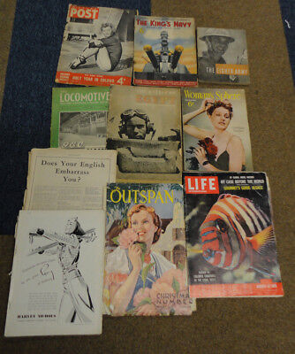 Collection of 40's and 50's magazines