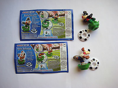 "'' Magic Sport 2 "" von 2008 - 2 Figuren + 2 BPZ"