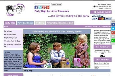 online business/work from home/ £10K Rrp stock for sale - Kids Party Bags