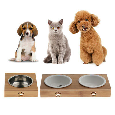 Anti-Skid Feeder Food Bowls Water Dish Small Pet Dog Cat Feeding Container