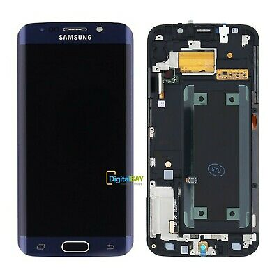 Display Lcd Touch Screen Nero Originale Samsung Galaxy G925 S6 Edge SM-G925