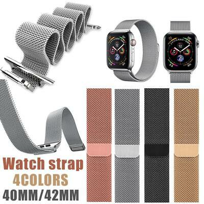 Milanese Stainless Steel Band Replacement Strap for Apple Watch Series 4 40/44mm