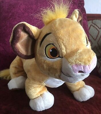 Simba The Lion King Official Disney Store Soft Toy /
