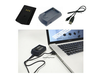USB Charger for Canon Digital Ixus 100 Is,120 Is,40,55,65,75,Wireless,i7 Zoom