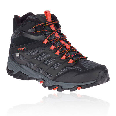 5ec4db406fe8a Merrell Mens Moab FST Ice Thermo Hiking Shoes Black Sports Outdoors Warm