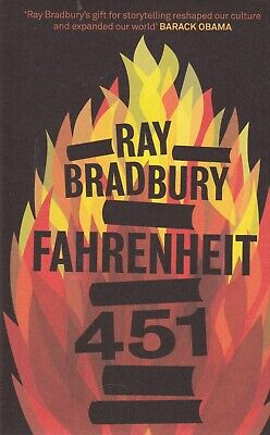 Fahrenheit 451 By Ray Bradbury, Paperback Book - Brand New - Free Uk Delivery