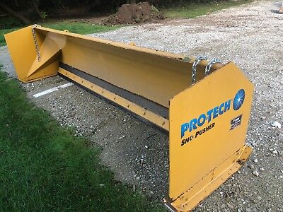 12' Protech Loader Snow Pusher
