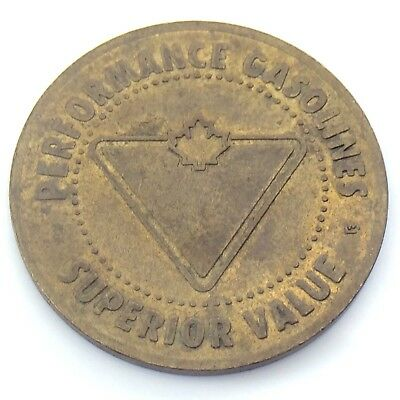 Canadian Tire CTC Gas Station Superior Value Gasoline Car Wash Token H214