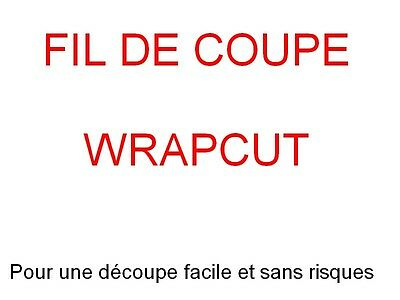 Wrapcut Fil De Coupe Film Vinyle Carbone 500 Cm