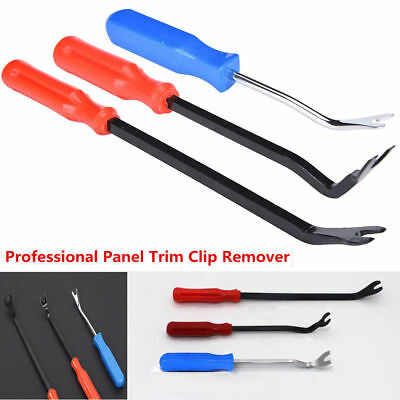 3x Car Door Panel Remover Upholstery Auto Removal Clip Trim Fastener Pliers Tool