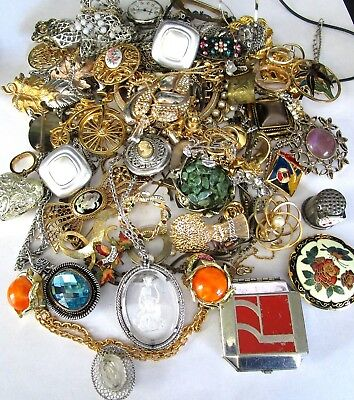 HUGE Lot of Vintage Jewelry! Unsearched! Fresh From Estate!