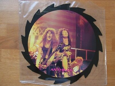 Anthrax / interview / Picture Disc / picture vinyl / Picture Shape