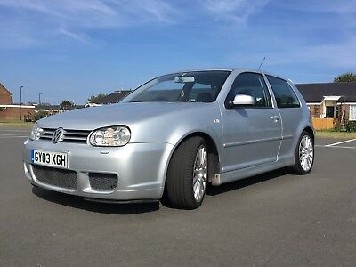 VOLKSWAGEN GOLF R32 3 Door, 4 Wheel Drive Mk 4 in Stunning Silver a must see