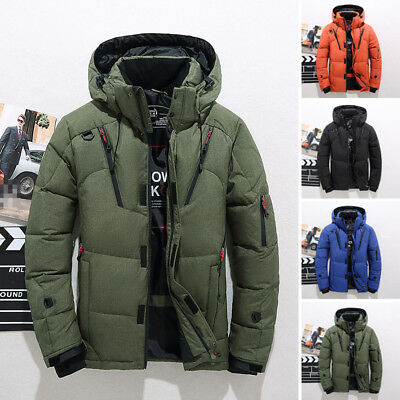 Fashion Men s Jacket Ski Snow Outdoor Climbing Winter Warm Duck Down Hooded  Coat 1d1dabe4d