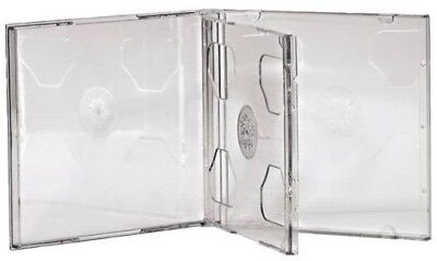 Double Cd Jewel Cases 5 Pack - 44752