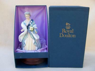 Boxed ! Limited Edition Royal Doulton The Queen Mother Hn3189 Figure